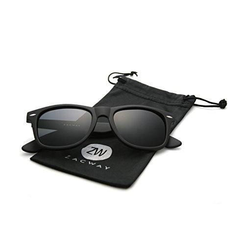 zacway-polarized-wayfarer-horn-rimmed-sunglasses-color-mirror-lens-matte-finish-black-grey-52