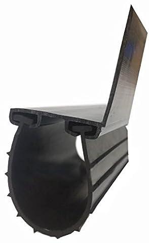 Garage Door Bottom Weather Seal Replacement Kit Fits up to 9' Garage Door by North Shore Residential - Garage Door Bottom