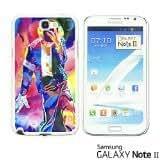 OnlineBestDigital? - Celebrity Star Hard Back Case for Samsung Galaxy Note 2 - MJ SHOW