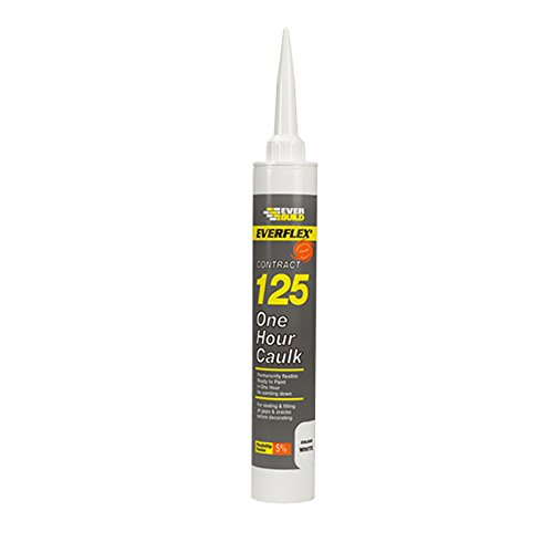 Everbuild Everflex Contract 125 One Hour Caulk - White
