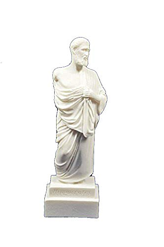(Estia Creations Hippocrates Statue Ancient Greek Father of Modern Medicine Small Sculpture)