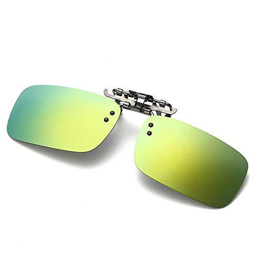 a Los la visión C Las de Nocturna Noche la miopía de conducen y acortan del polarizados de día la Sol de Gafas vidrios los de Clips B Hombres los KOMNY Que dpw0vd