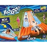 Inflatable Triple Water Slide Outdoor Kids Play Backyard Pool Deal