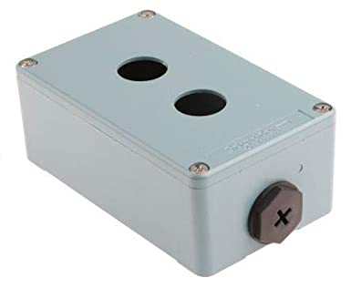 Schneider Electric XAPM2202 Caja Metalica Vacia 2 Taladros: Amazon.es: Industria, empresas y ciencia