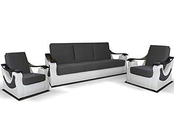 Mb Moebel Polstergarnitur Sofa 3er 2x Sessel 3 1 1 Möbel Set Mit