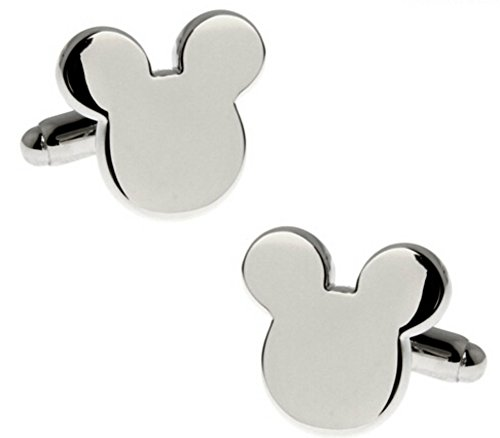 Disney's Mickey Mouse Ears Metal Cufflinks by New Horizons Production