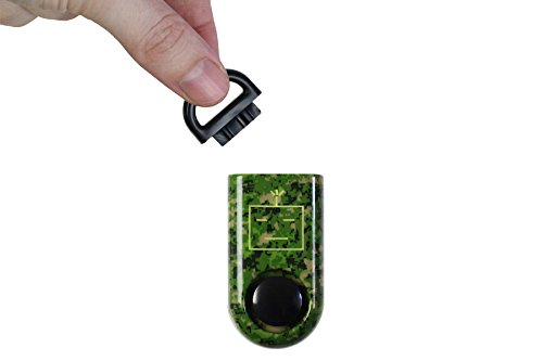 ROBOCOPP SOS Personal Alarm, Original Sound Grenade Army Camo, 2016 Limited Edition, Carabiner Included, Green