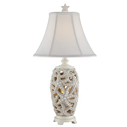 Seahaven Starfish Table Lamp - Coastal Style (Lamps Beach Style)