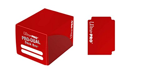 (Ultra Pro Dual Deck Box, Small, Red)
