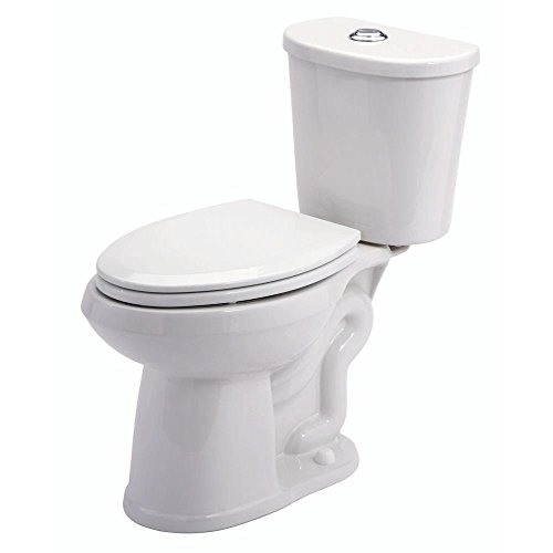 Gerber GDF21118 Maxwell 2 Piece 1.28 GPF Dual Flush Elongated Toilet in White hot sale 2017