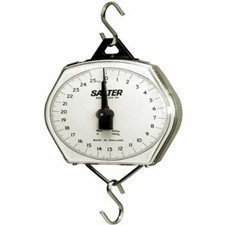 Mechanical Hanging Scale - Plastic Case - 11 lb. Capacity x 1 oz. Resolution by Salter-Brecknell