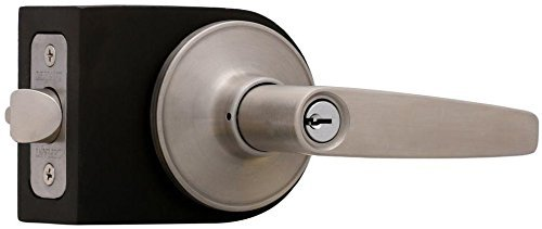 Defiant Stainless Steel Olympic Entry Lever Lockset