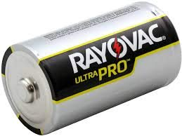 Rayovac UltraPro Alkaline D Cell Batteries Case of 72 (12/6-packs in box)