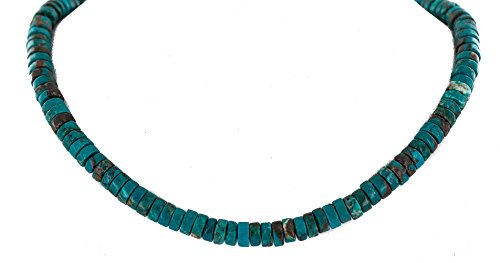 Rare $400 Retail Tag Authentic Silver Handmade Navajo Native American - Navajo Necklace Turquoise