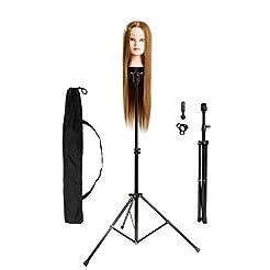 HYOUJIN Wig Stand Metal Adjustable Cosme...