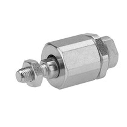 PM5 Flexible Spherical Coupling - For use with NFPA/ISO Series Air Cylinder, PM5 Flexible Spherical Coupling, M8 Thread, Steel Material (Pack of 2)