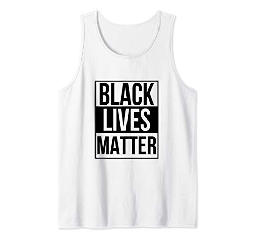 BLM T-Shirt - Black Lives Matter Distressed Tank Top