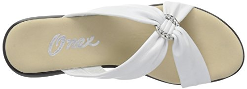 Nanci White Wedge Women's O NEX Onex Sandal q6BT0