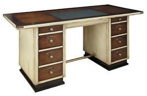 Nautical office furniture Captains Image Unavailable Himantayoncdoinfo Amazoncom Nautical Captains Desk Ivory Wooden Office Furniture