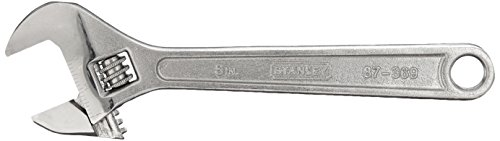 Stanley 87-369 8-Inch Adjustable Wrench Available On Amazon