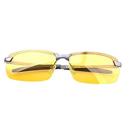 TYJYY Gafas de Sol Gafas De Sol Polarizadas Amarillas ...