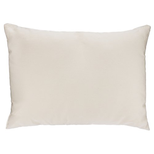 Adovely Toddler Pillow Organic Cotton, Down-Like Fill, Ivory 13 X 18 by Adovely