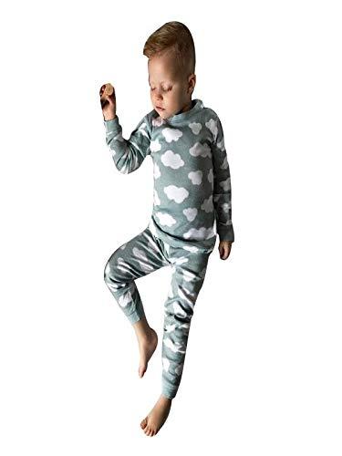 Keliay Clearance Sale,Toddler Kids Baby Boy Girl Cloud T-Shirt Tops+Pants Family Pajamas Clothes Set
