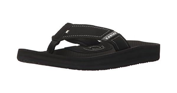Cobian MDuae 12 Trade Flat black Men's Arv2 Sandal sCxthdBoQr