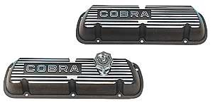 Ford Racing M6000C302 Black Satin Valve Cover, Cobra