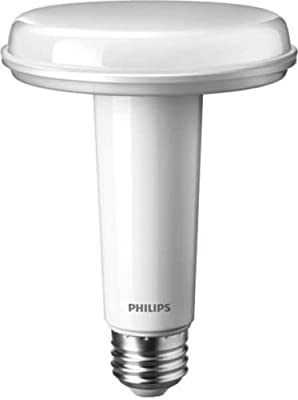 PHILIPS 452367 9.5W 120V LED SlimStyle BR30 5000K Dimmable Medium Bulb