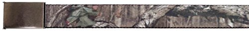 "Buckle-Down Buckle-Down Web Belt Mossy Oak Ram 1.0"" Accessory, -Mossy Oak Ram, Kids"