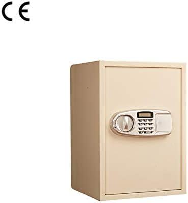 MIAOBX Caja Fuerte electrónica, Sistema de Alarma Dual, diseño Fijo, contraseña de 4-6 dígitos, Llave de Repuesto, Pantalla electrónica, Joyas y Joyas/Documentos Importantes Cajas de caudales: Amazon.es: Hogar