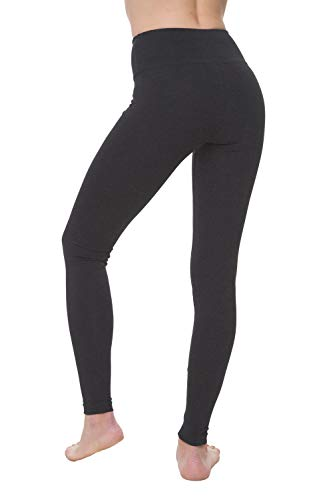 NIRLON Leggings for Women High Waisted Tummy Control Workout athletic gym Yoga Pants Ankle Length Regular & Plus Size Great as Black womens maternity clothes (S, Charcoal) (Best Petite Clothing Stores)