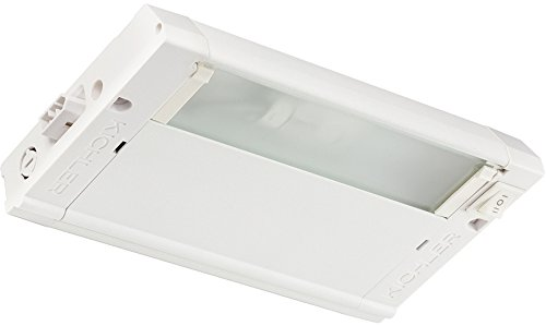 Kichler 4U12X08WHT 4U Series Under Cabinet, 1 Light Xenon 18 Watts, Textured White