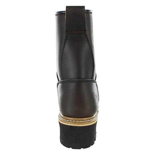 Rugged Blue Pioneer II Logger Boot (12W) Brown by Rugged Blue (Image #4)