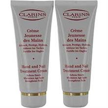 Clarins Set-Hand and Nail Treatment Cream Duo,
