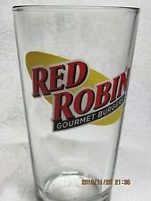 red-robin-glass-red-robin-16-oz-pint-glass-red-robin-collectible-glass-red-robin-gourmet-hamburgers