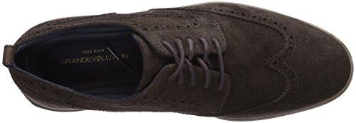 Haan Shortwing Oxford Dark Men's Leather Cole dark Roast Taupe GrandEvOlution Cobblestone dBxtUIq
