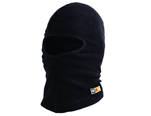 N-Ferno 6828 Thermal Fire Resistant Modacrylic Fleece Balaclava, Black (Fire Resistant Balaclava)