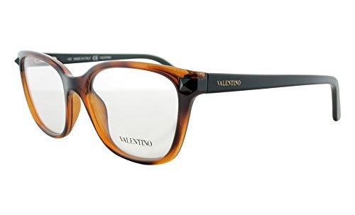 VALENTINO Eyeglasses V2677 242 Havana/Black - Valentino Eyeglasses Frames