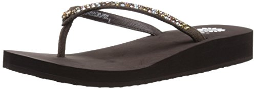 - Yellow Box Women's Jello Sandal, Bronze/Brown, 11 M US