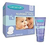 Health & Personal Care : Lansinoh Ultra Soft Disposable Nursing Pads and HPA Lanolin by Lansinoh