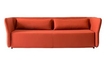 Schlafsofa Carmen 144x200cm Sofa Mit Schlaffunktion Rot