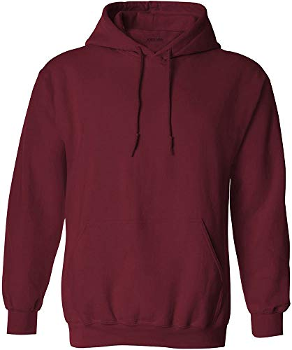 Arms Sweatshirt - Joe's USA - Big Mens Size Extra Large Hoodie Sweatshirts-XL in Cardinal Red