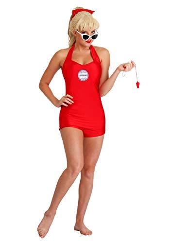 Womens Lifeguard Costume (Wendy Peffercorn Adult Sandlot Costume Small)