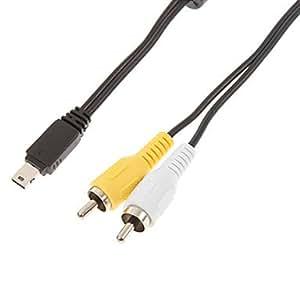 YTJ- av macho a macho cable usb 2.0 el mini para Casio