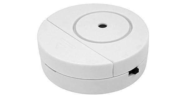 Alarma de rotura de cristal - Protección perfecta contra ladrones con alarma inmediata muy alto Protección de ventanillas/Alarma antirrobo, alarma 90dB: ...