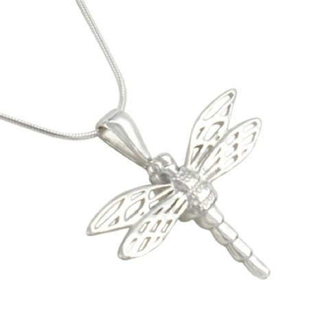 Amazon dragonfly cremation jewelry pendant for ashes by madelyn dragonfly cremation jewelry pendant for ashes by madelyn aloadofball Gallery