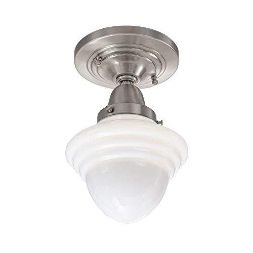 Norwell Lighting 8201F-PN-AC Bradford - One Light Wall Sconce, Choose Finish: PN: Polished Nickel