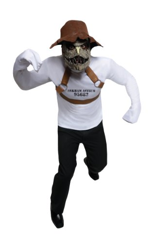Rubie's Costume DC Comics Rogues Gallery Adult Scarecrow Set  White  Standard -